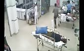Man is stabbed in a hospital