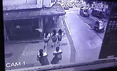3 students get plowed by out of control truck