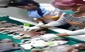 Market of dead fetus in asia