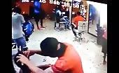 Murder in barber shop