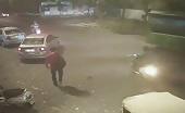 Shocking video of man killed by speeding car