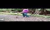 Heartless man kills a puppy for fun
