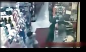 Store robber faces instant karma