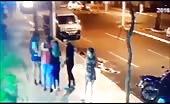 Cctv murder on street by gunfire