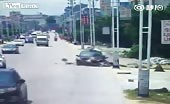 Brutal bikers accident 10