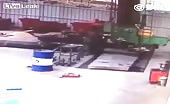 Mechanic dies after being pulled into a spinning machine 32