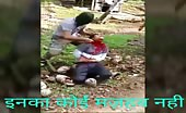 Aggressive beheading of young man 6
