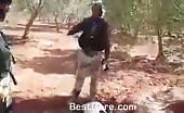 Rebels behead syrian soldier