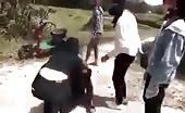 Women gang beating 11
