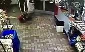Black man brutally beats store worker with baseball bat