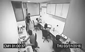 Cctv footage live murder in office