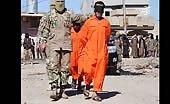 Isis beheading prisoners in crowd