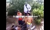Vídeo terrible el cdg decapitan a 4 de los zetas 9