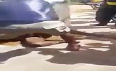 African woman beaten & tortured 6