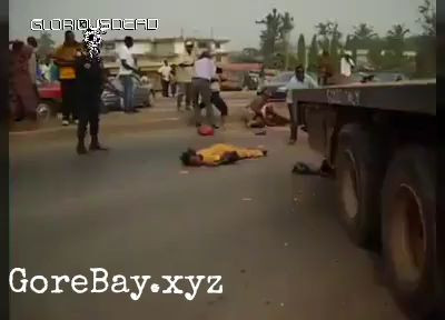 Aftermath - Truck crashes unto people, kid got skull crushed 9