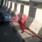 Biker decapitated, head stuck on railing 2