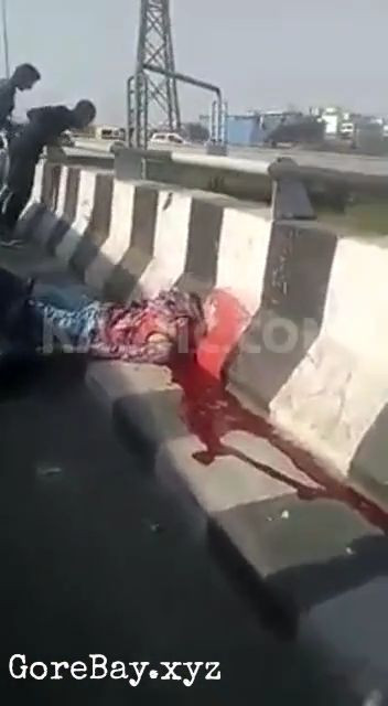 Biker decapitated, head stuck on railing 6