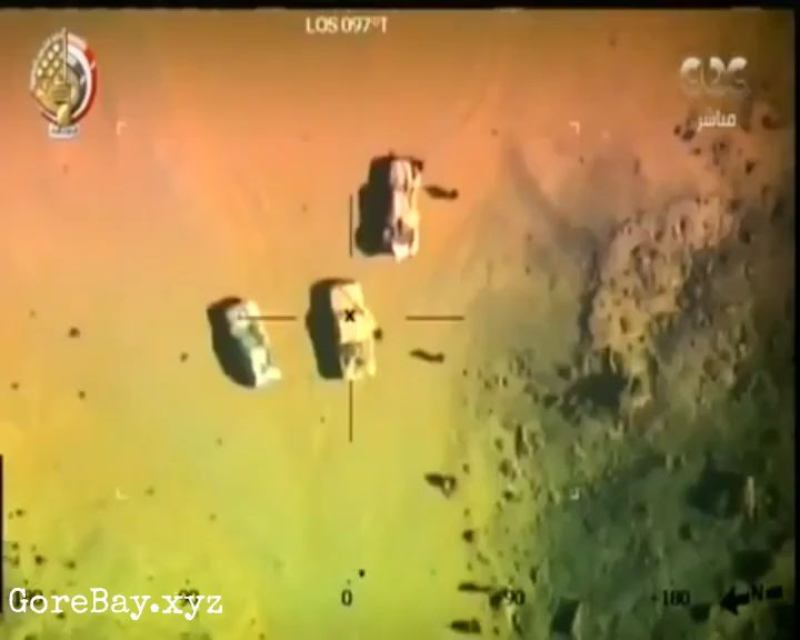 ISIS troop wiped by Egyptian air missile 13