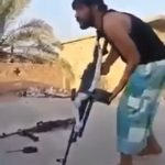 Guy with a machine gun got sniped while showing off 2