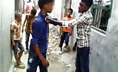 Indian boys street fight 13