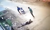 Murder caught in cctv 5