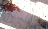 Decapitating dead body in syria 12