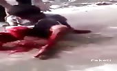 Terrible road accident indian boy 14