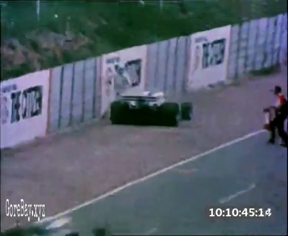 Track marshal ran over by a speeding F1 8