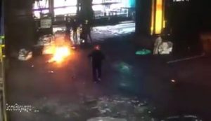China factory worker burnt alive