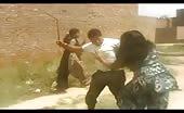 Indian – man beat woman in public 11