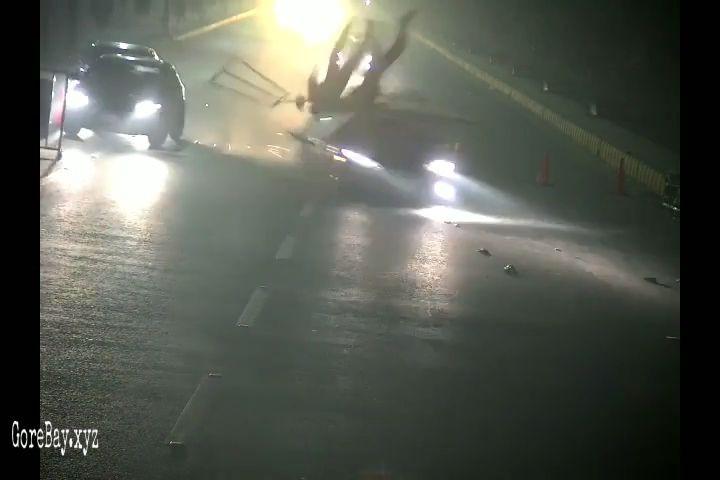 Pakostani officer ran off by a car at roadblock 15