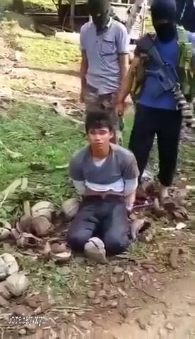 Tied up man gets beheaded 5