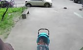 Falling concrete hits her mother head 13