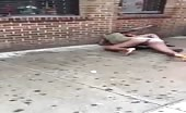 Women fighting on the street 10