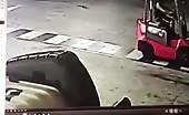 Worker killed by forklift load 7
