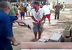 Brazilian mob justice fingers chopped off 3