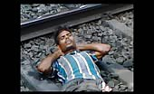 Suicide attempt on railway line 15