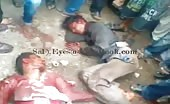 Thugs beaten by angry mob in pakistan 7