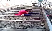 Woman looses arm in train accident 7