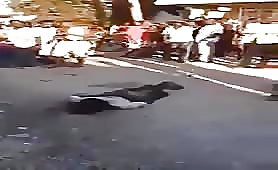 African thief lynched again by angry mob 3