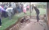 Alleged thief savagely beaten 5