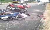 Died in bike accident