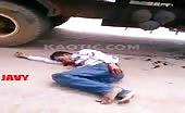 Nasty motorcyclist accident 15