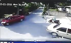 Shootout caught on cctv