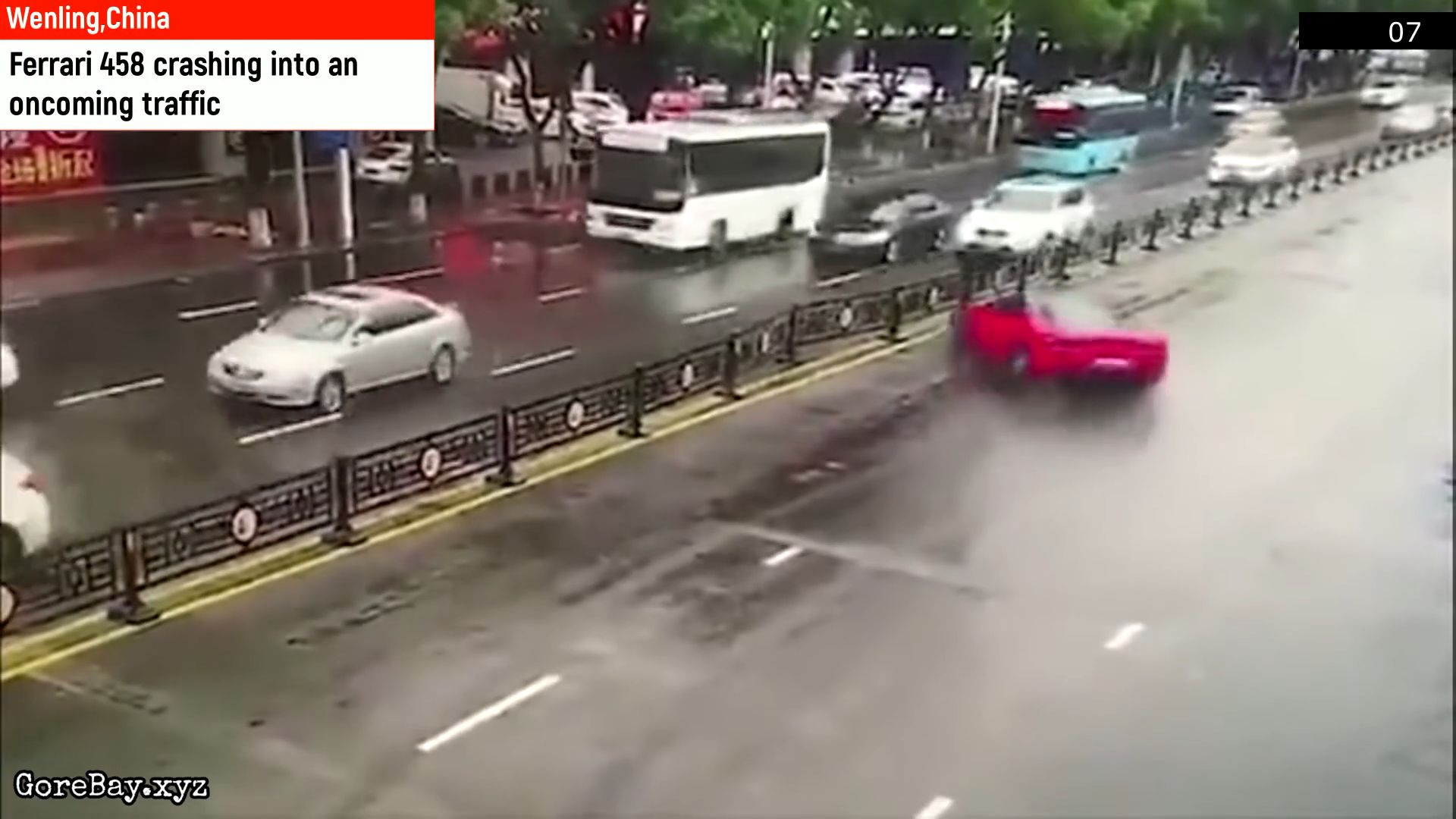 Woman wrecks Ferrari moments after renting it 13