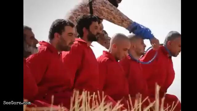 ISIS blows head of men 11