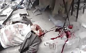 Syrian neighborhood bomb blast massacre 7