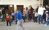 Arab boys street fight 12