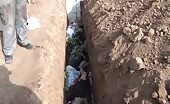 Mass grave by assad army