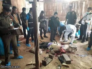Pregnant wife dismembered
